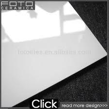 snow white and black shiny floor tiles polished porcelain tile