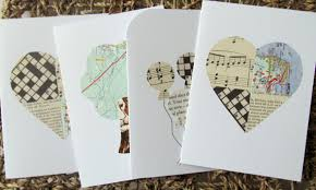 DIY Greeting Card Ideas Paper Art Crafts With Music Sheets Craft