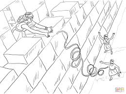 Click The Rahab Helps Spies Coloring Pages