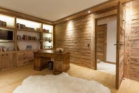 chalet bureau chalet traditionnel tub piscine chalet la