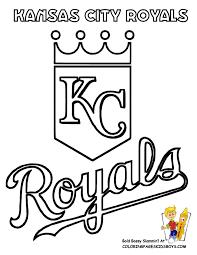Kansas City Royals Coloring At YesColoring