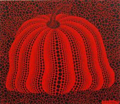 Yayoi Kusama Pumpkin by Yayoi Kusama Bn 1929 A Screen Print Titled Pumpkin 2000