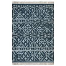 tapis coton tisse a plat tapis tissé à plat motif kilim en markus modern