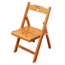 Amazon.com: XPHZHJ- Stool Small Chair Solid Wood Folding ...
