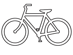 Bike Clipart Black And White Panda Free Images Rh Clipartpanda Com Riding
