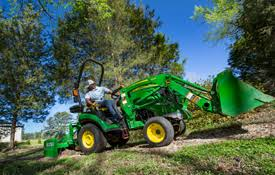 John Deere 1025r Mower Deck Adjustment by North Country Tractor Inc Tractors