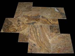 Scabos Travertine Floor Tile by Outdoor Stone Products Cultured Stone Travertine Pavers Pool Tiles