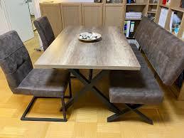 stühle und sitzbank esszimmer