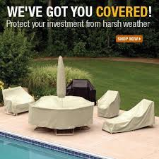 Garden Treasure Patio Furniture Covers by Innovative Protective Covers For Outdoor Furniture Treasure Garden