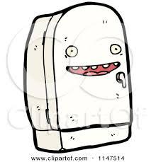 Cartoon Refrigerator For Pinterest