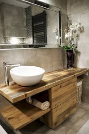 waschtisch aus altholz bad inspiration große bäder