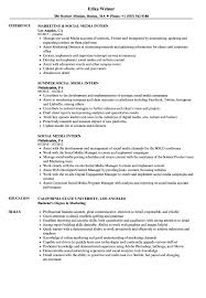 Social Media Intern Resume Samples | Velvet Jobs 96 Social Media Director Resume Marketing Intern Sample Writing Tips Genius Templates Examples Of Letters For Employment Free 20 Simple How To List Skills On Eyegrabbing Evaluator New Student Activity Template Social Media Rumes Marketing Resume Samples Hiring Managers Will Digital Elegant Public Relations Complete Guide Advanced Excel Puter Science For Rumes Professional Retail Specialist Samples Velvet Jobs Strategist