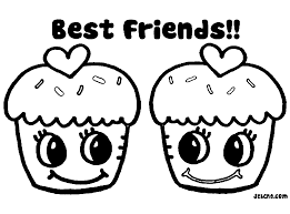 Best Friend Coloring Pages Alric Download