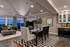 Oakwood Homes for a Contemporary Dining Room with a Colorado Homes