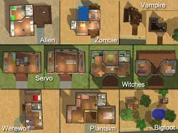 Sims 3 Floor Plans Download by Mod The Sims Scifi Starter Families Get The Paranormals Here