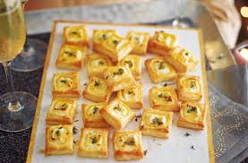 puff pastry canape ideas goat s cheese bites recipe food ideas tesco food