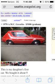 Don't Fill It Up After Midnight: 1978 AMC Gremlin Extravaganza - The ... Lexus Of Bellevue New Preowned Vehicles In Seattle Strictly Tr Trl Strictly_trl Twitter Craigslist Crapshoot Hooniverse Is This Rare Skoda Worth 3000 How I Clean My Rc Cars Youtube Victoria Tx Used And Trucks For Sale By Owner For 1995 1981 Triumph Tr7 Convertible Could Be Your Lucky Number Banks Boats Yachtworld And Elegant Gilchrist Chevrolet Old Chevy Pickup Inspirational Pin Aaron Tokarski On 3100
