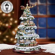 Thomas Kinkade Christmas Tree Cottage by The Thomas Kinkade Wonderland Express Christmas Tree Product
