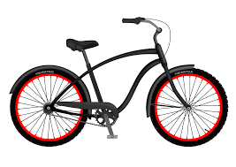 Cruiser Bicycle Clip Art