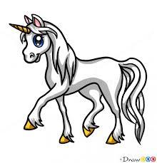 Unicorn Clipart Easy Draw 3