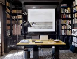 33 dramatic masculine home office decorating ideas