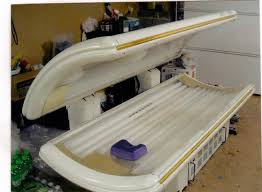 tanning bed s garage detail