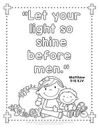 Halloween Bible Verse Coloring Page