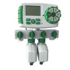Hose Bib Timer Home Depot by Automatic 4 Zone Irrigation System Garden Water Timer Controller