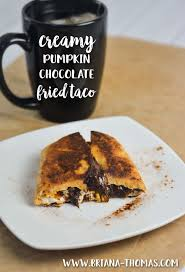 Pumpkin Glycemic Index by Low Carb Creamy Pumpkin Chocolate Fried Taco Thm S Sugar Free