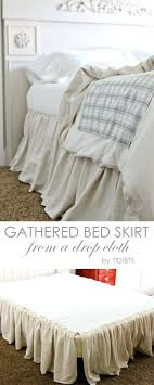 Long Bed Skirts Extra Long Bed Skirt Twin Longer Length Bed Skirts