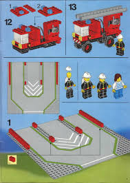 LEGO Fire House-I Instructions 6385, Rescue