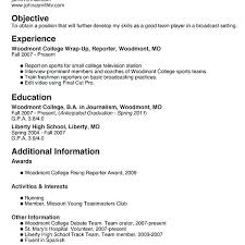 Resume For Teenager First Job Enchanting 4 Builder Example Sample Teenage