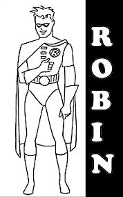 Friend Of Batman Coloring Pages