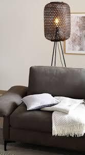 sofa decke und kissen wohnzimmer idee schöner wohnen