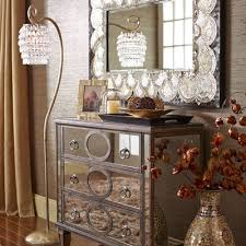 gabrielle shiitake trimmed mirrored chest pier 1 imports