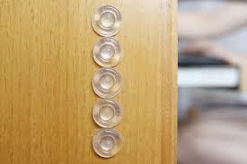 Kitchen Cabinet Door Bumper Pads by Sound Dampening Door Bumpers 1 2