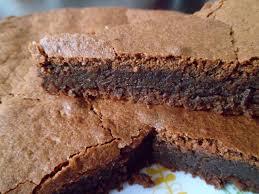 gâteau fondant chocolat noisette sans farine gourmandises entre
