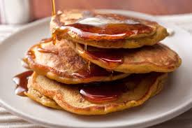 Pumpkin Cake Mix Pancakes by Spiced Pumpkin Pecan Pancakes Recipe Chowhound