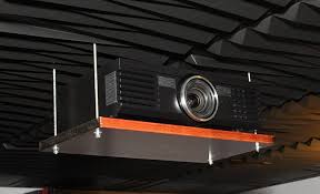 Drop Ceiling Mount Projector Screen by Eric U0027s Diy Audio Projects