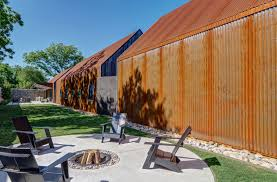 100 Gabion House Walls And Recycled Steel Panels Clad An Outstanding Green