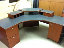 Office Desks With Drawers Image Of Simple Rustic Corner Desk Home Furniture