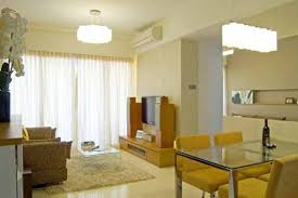 Wonderful Pictures Of Interior Design For Small Apartments Stunning Decoration With White Shade Pendant Lamp