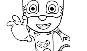 Pj Masks Coloring Pages Prtable Romeoprtable