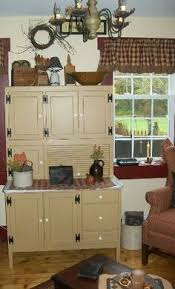 Primitive Decor Kitchen Cabinets by The Vintage Kitchen U2022 Colonial Gatherings U0026 Cloches