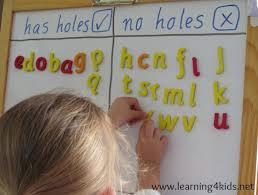 List Of Alphabet Activities