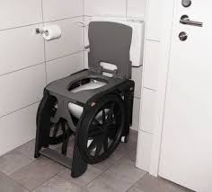 siege handicapé fauteuil roulant d aisance pour toilettes et idéal pour