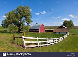 Red Barn And White Fence In Palouse, Washington Stock Photo ... Red Barn Washington Landscape Pictures Pinterest Barns Original Boeing Airplane Company Building Museum The The Manufacturing Plant Exterior Of A Red Barn In Palouse Farmland Spring Uniontown Ewan Area Usa Stock Photo Royalty And White Fence State Seattle Flight Interior Hip Roof Rural Pasture Land White Fence On Olympic Pensinula