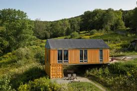100 Shipping Containers For Sale New York Coming Home To A Container The Times