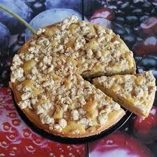 apfel birnen kuchen mit mohnstreusel zutaten für 1