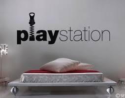 details zu wandtattoo schlafzimmer playstation uss022 wandaufkleber kinderzimmer spielwiese